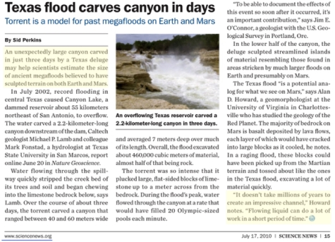 Texas canyon in days