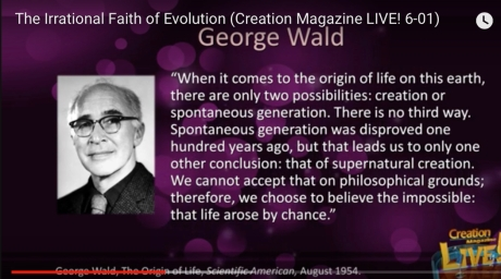 George Wald quote