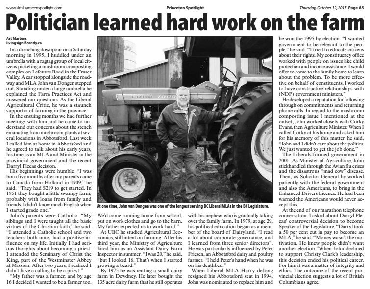 Van Dongen article